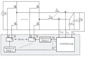 ساختار کنترلی مبدل DC به DC از نوع بوست