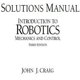 دانلود حل المسائل رباتیک