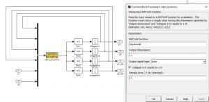شماتیک مدل سازی دینامیکی یک سیستم با استفاده از Interpreted Matlab Fcn min 300x147 تابع نویسی در سیمولینک متلب