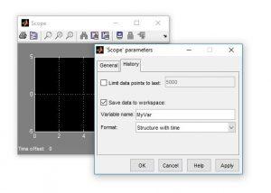 ذخیره سازی داده با scope min 300x214 ابزار رسم در متلب   plot tools